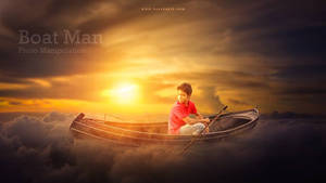 The Boat Man by hasshasib001