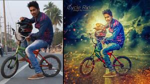 Cycle Rider by hasshasib001