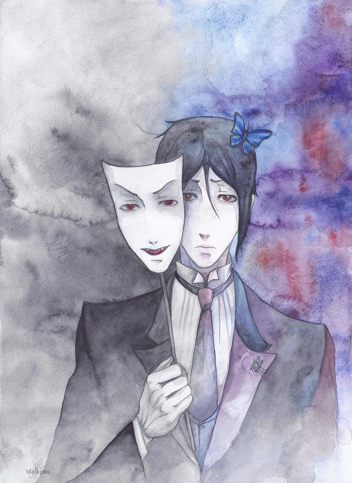 Sebastian_the mask of the beast. by Melkpso
