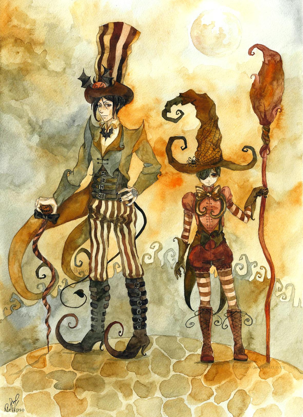 Black Butler: Halloween look. by Melkpso