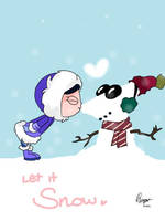 Let it snow - Phineas and Ferb by Dinzeeyz