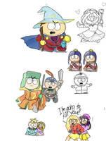 Sketches by Dinzeeyz