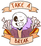 Friendly reminder from sans