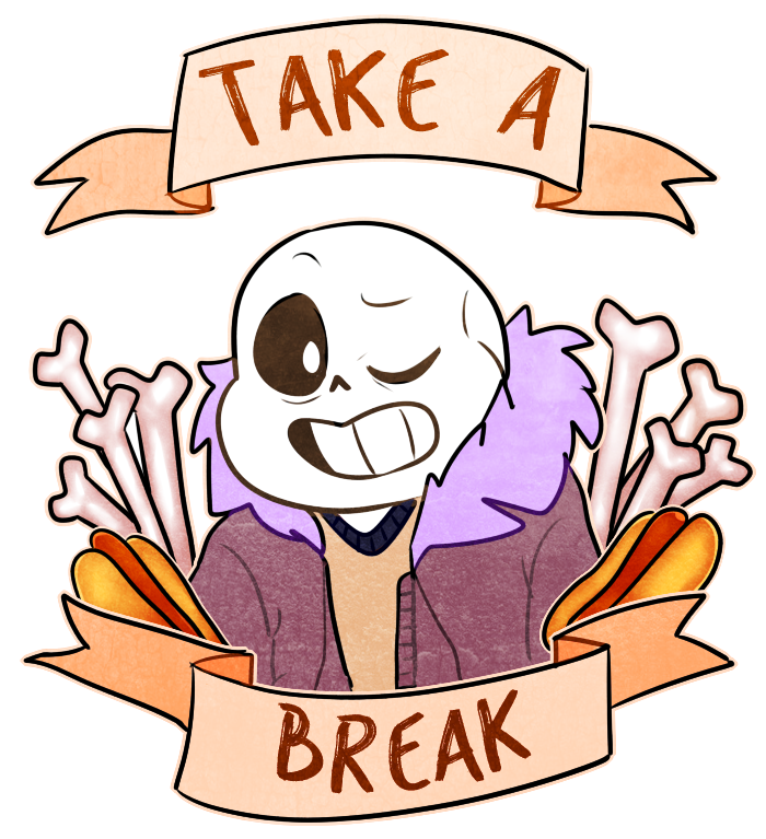Friendly reminder from sans by Dinzeeyz