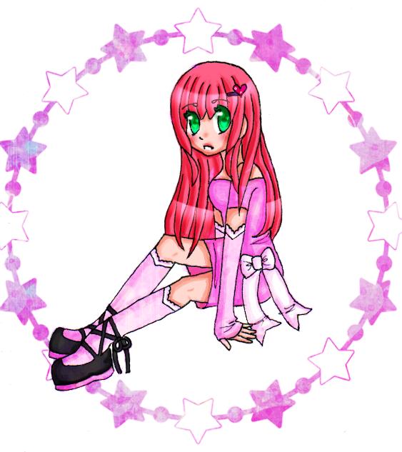 .:Pink Stars:. by Harajuku-Lollipop