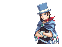 Trucy Wright: Prosecutor: Gotcha (Talking) by melelisun