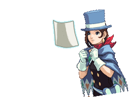 Trucy Wright: Prosecutor: Evidence by melelisun