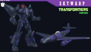 TF:FORTIES - SKYWARP 3D MODEL [BLENDER]