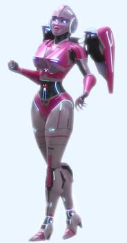 Complete (yeee) Arcee 3D model^_^ [Blender TF]