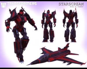 STARSCREAM 3D MODEL [BLENDER TF]