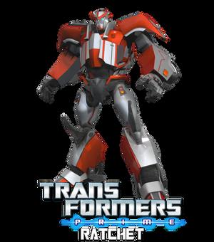 TRANSFORMERS:PRIME RATCHET 3D MODEL [BLENDER TF]