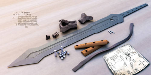The Sword of Thorin Oakenshield - disassembled by RazorDzign