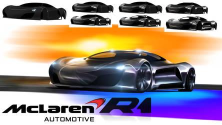 Tutorial-ish render, McLaren concept by RazorDzign
