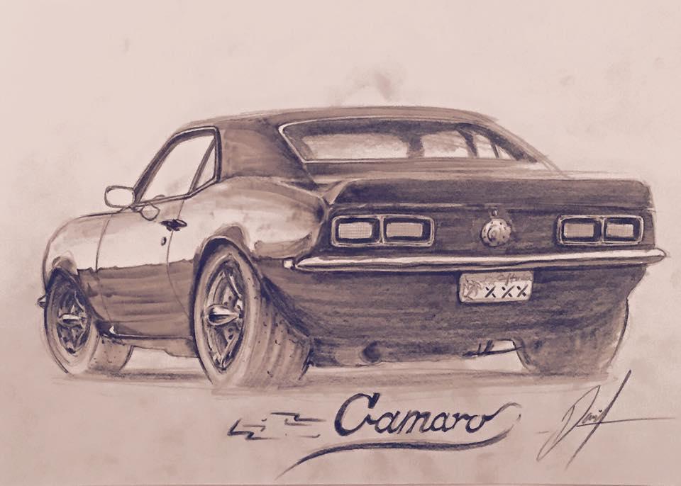 Custom 68 Camaro By Razordzign On Deviantart