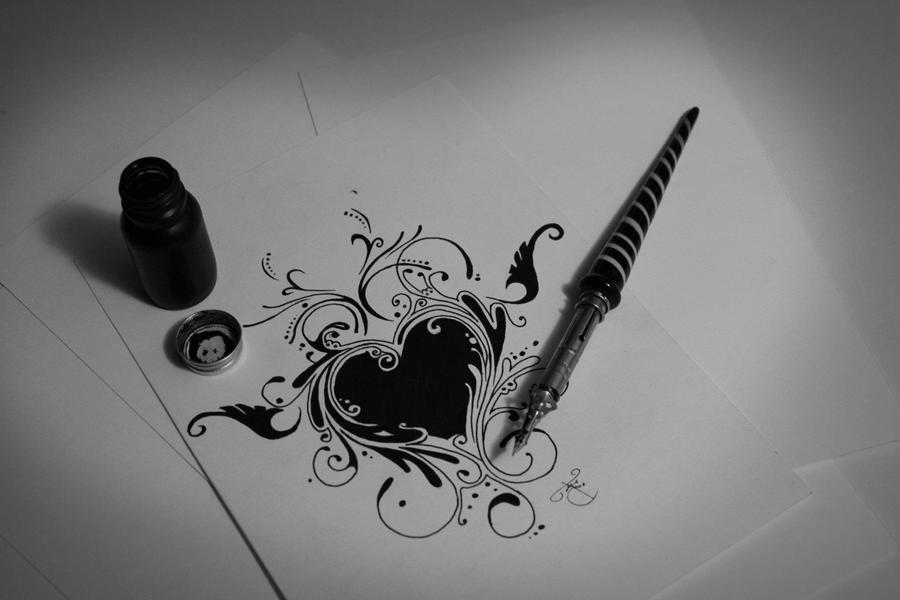 Heart Ink by FilipeMarcelo