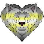 Demigender Pride Lionheart