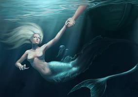 Mermaid UPDATE by MorranArt