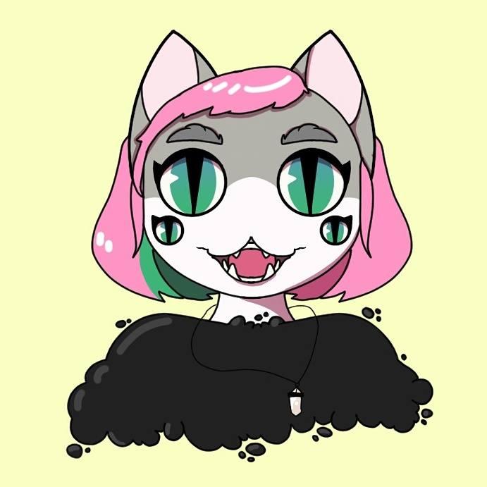 Alien Kitty by legendofzazzy43