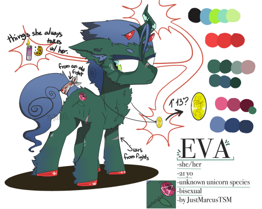 EVA / adopted by Derpyface673 by JustMarcusTSM