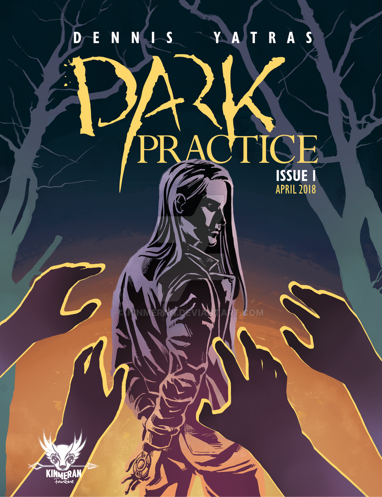 Dark Practice Issue 1 Cover by kinmeran