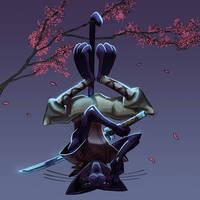 Ninja Cat - CharacterDesignChallenge