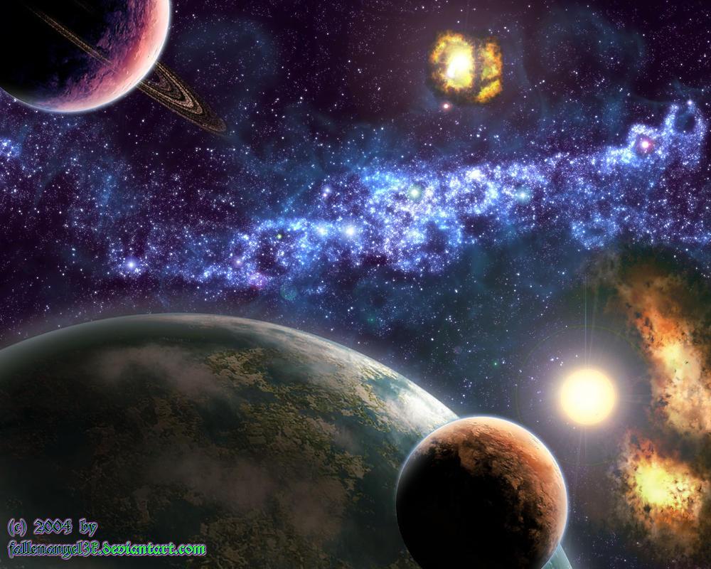 Space -4- by fallenangel3k