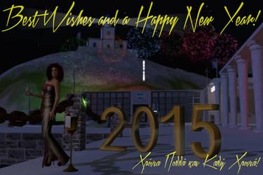 Happy New Year 2015 by Amalia-Illios