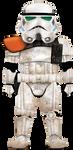 Dirty D - Sandtrooper (Adobe Illustrator) by R1VENkassle