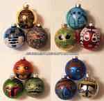 Star Wars Ornaments by jsundmint