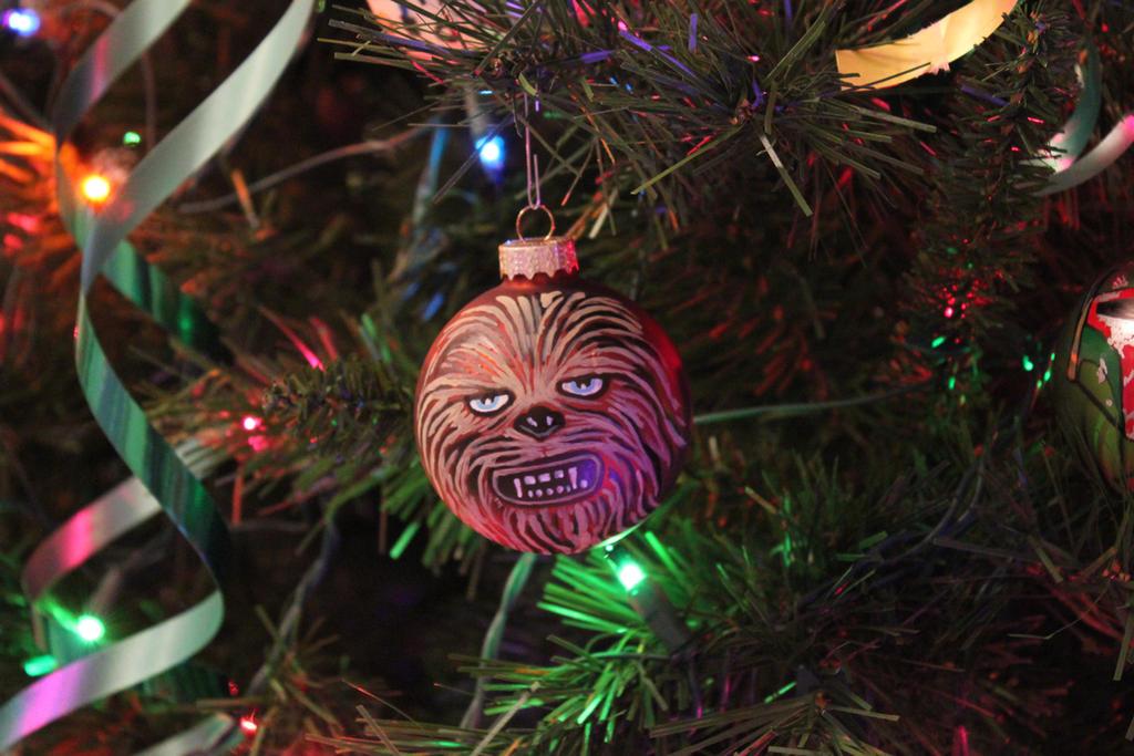 Chewbacca - Custom Christmas Tree Ornament by R1VENkassle on ...
