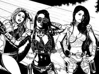 Some of the Ladies - INKY