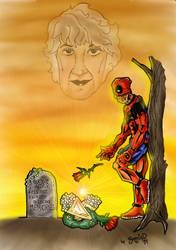 Deadpool Bea Arthur Tribute by BouncieD