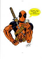 Deadpool posing 4 myspace by BouncieD
