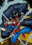 Spider-Man and Venom Colorjob