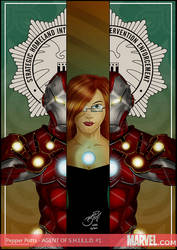 Pepper Potts from Iron Man by BouncieD