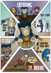 Chibi Wolverine and the X-Men