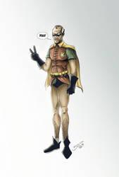 Batmans NEW Sidekick Robin ... Alfred by BouncieD