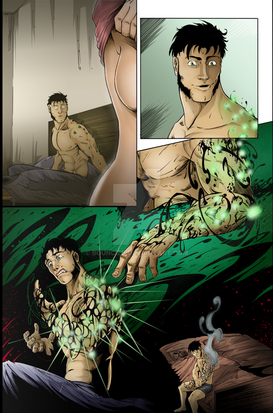 Sequential Coloring The Changer # 1 Page 24 by BouncieD