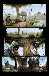 Sequential Coloring The Changer # 2 Page 7