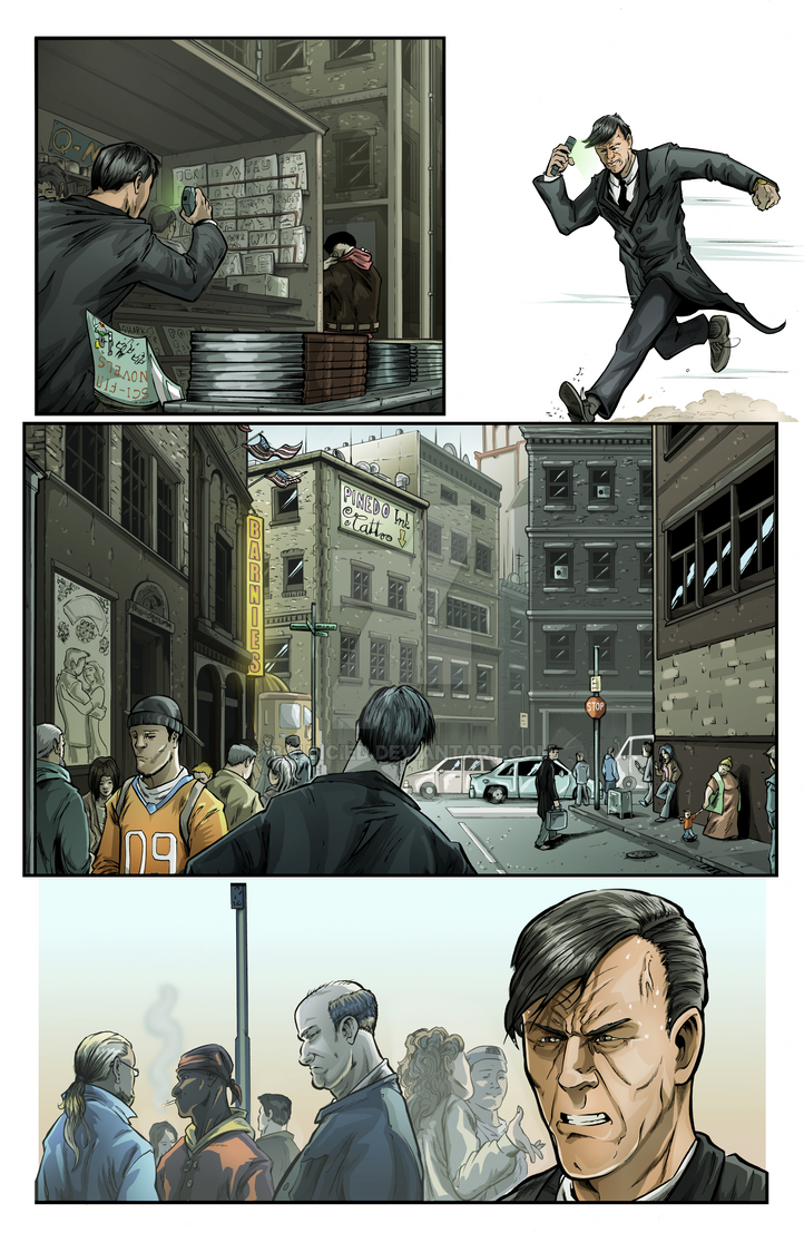 Sequential Coloring The Changer # 2 Page 21. by BouncieD