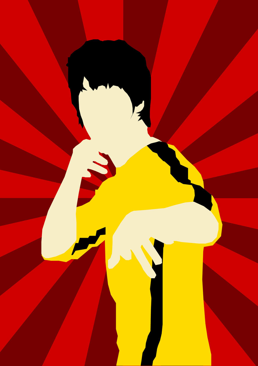 bruce lee vector by so...