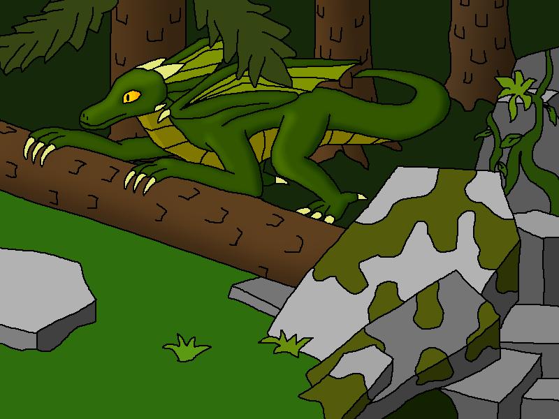 Forest dragon by Ferrum95