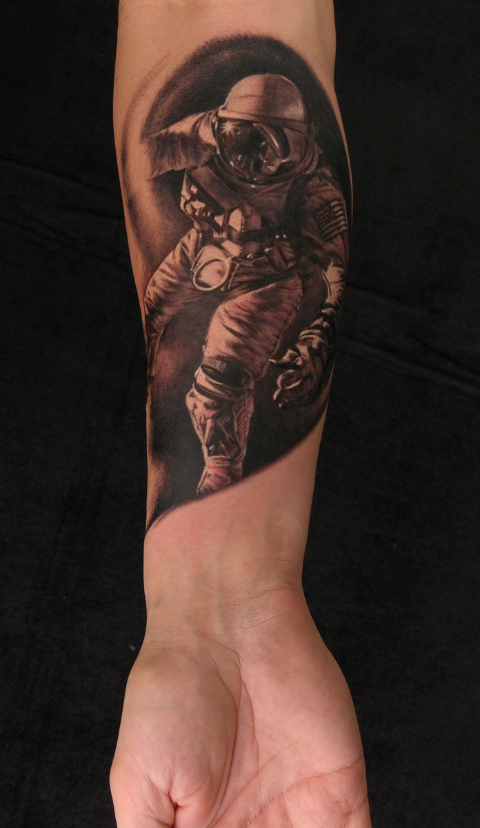 Spaceman by viptattoo