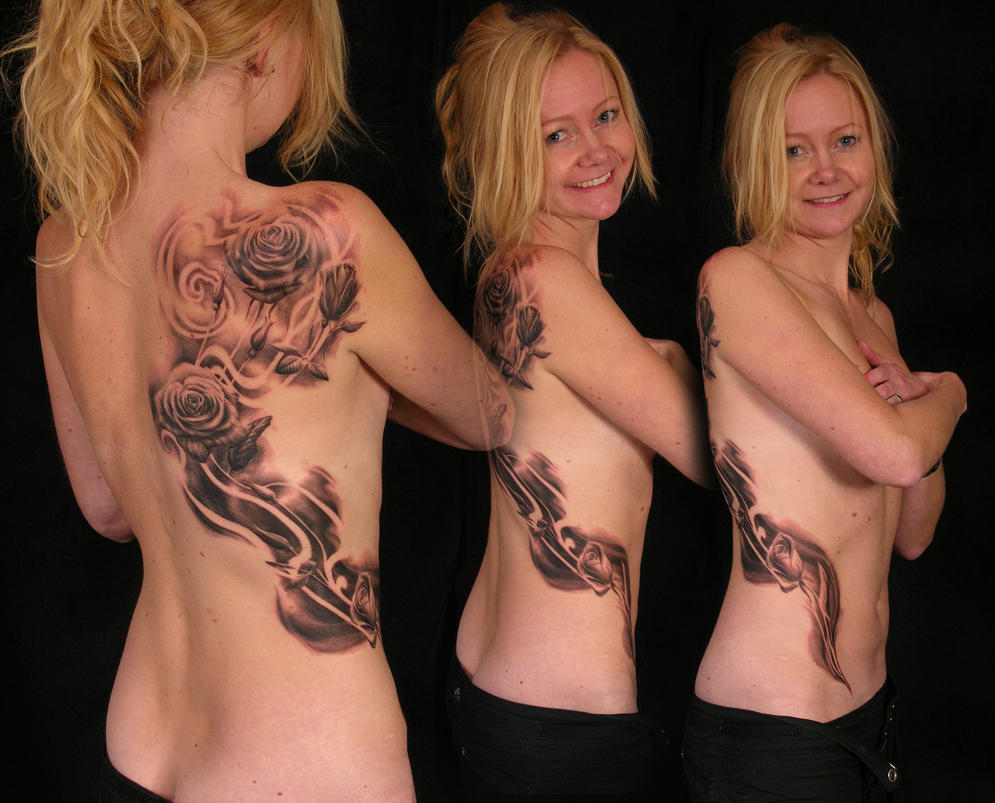 Body Roses by viptattoo