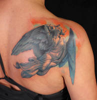 Horny Angel by viptattoo