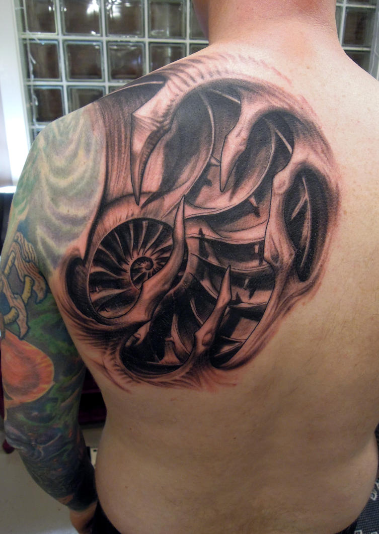Nautilus bio by viptattoo