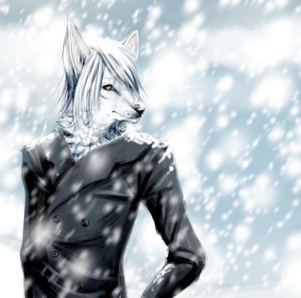 Snowing by Berserk-Cyborg-Panda
