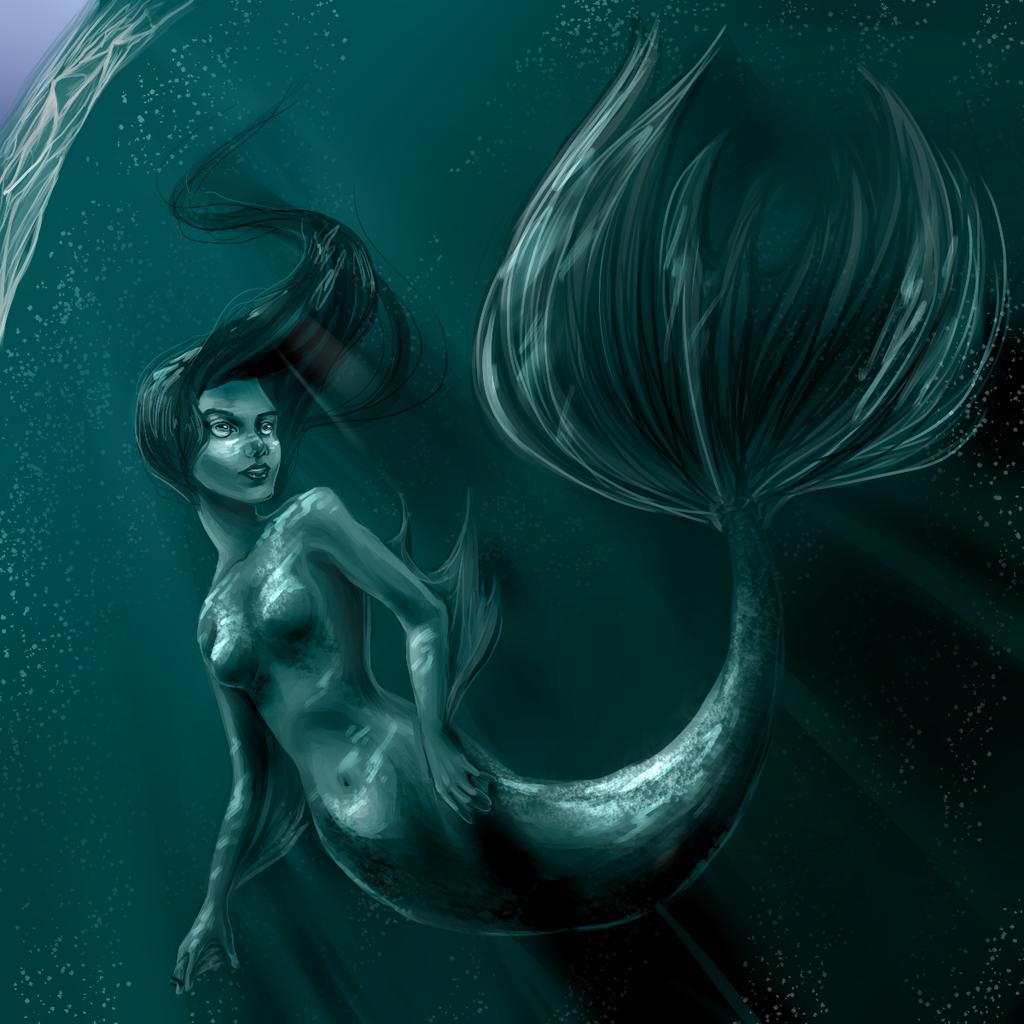 Mermaid by Berserk-Cyborg-Panda