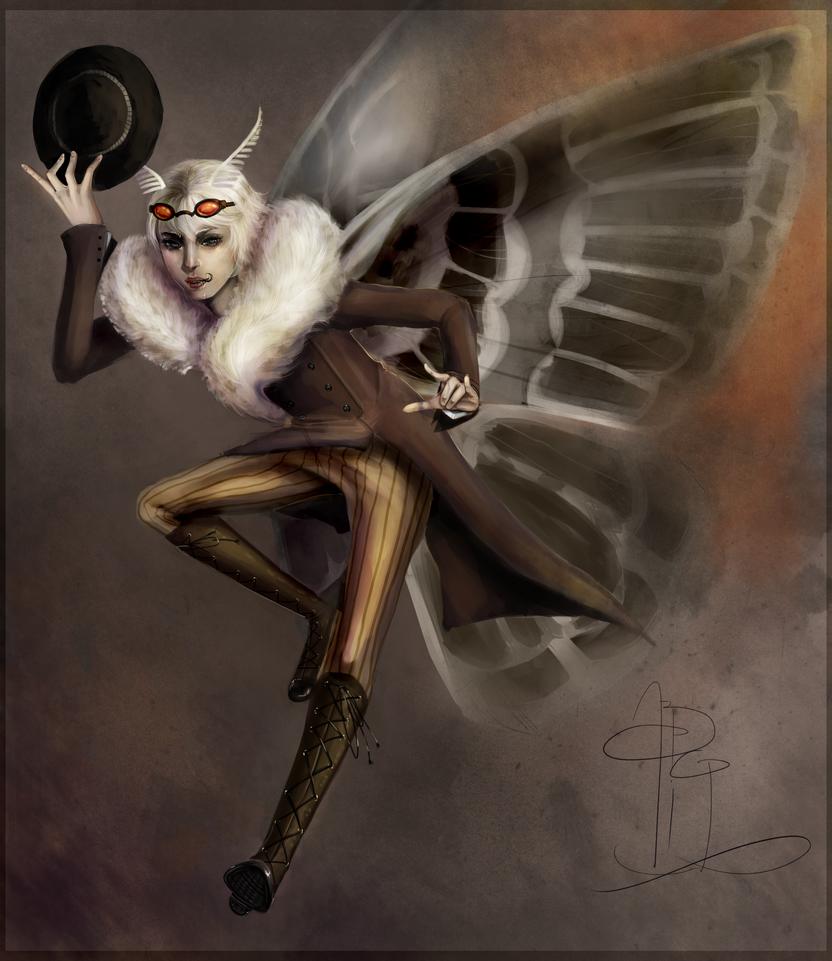 MothMan by Berserk-Cyborg-Panda