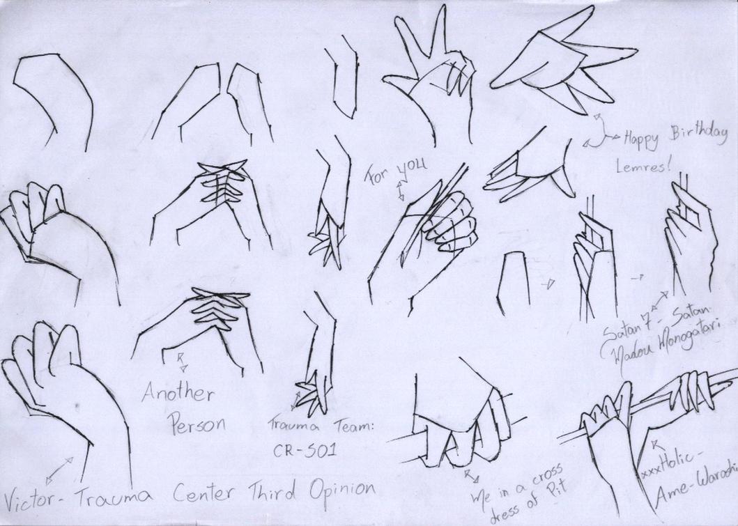 Cloudshadezer0 636 0 2nd Tutorial: Hand By Tsukianimegirl
